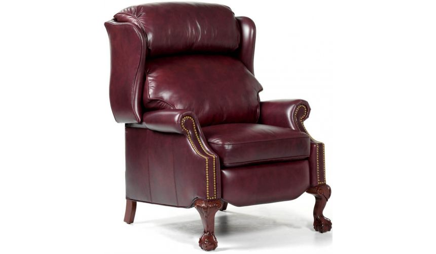 MOTION SEATING - Recliners, Swivels, Rockers Leather Copley Recliner