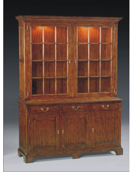 Breakfronts & China Cabinets High End Dining Room Furniture Display Cabinet Upscale home furnishings