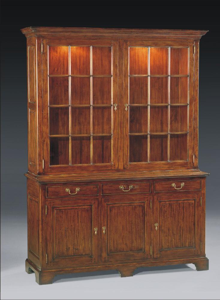 High end dining room furniture display cabinet upscale for Dining room display cabinets