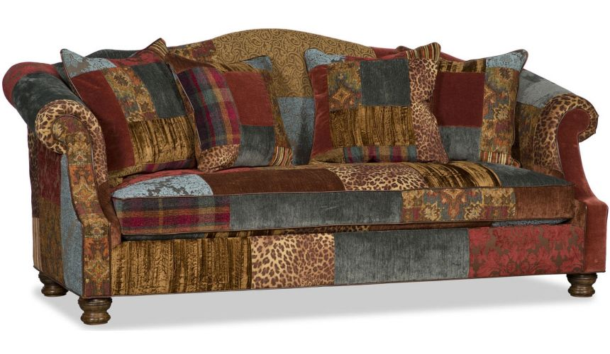 SOFA, COUCH & LOVESEAT Multicolor Curved Sofa