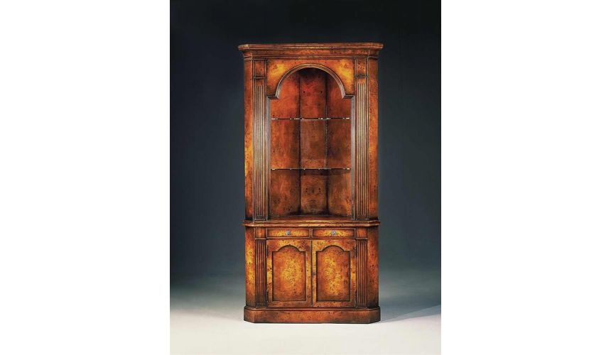 Breakfronts & China Cabinets High quality dining room furniture China Cabinet