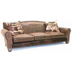 Stunning Rustic Stables Sofa