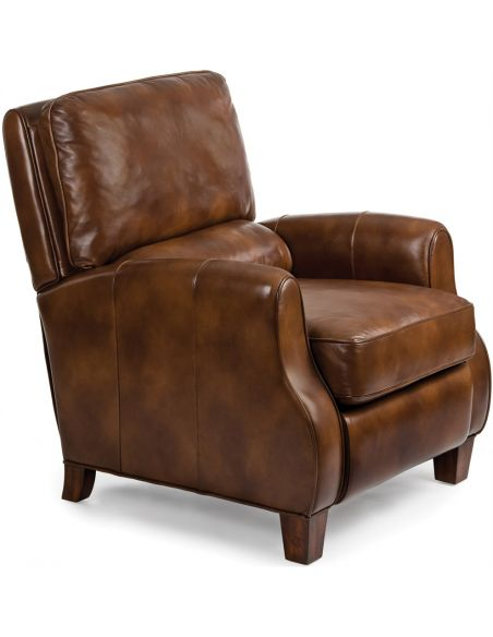 Luxury Leather & Upholstered Furniture Leather Lounger