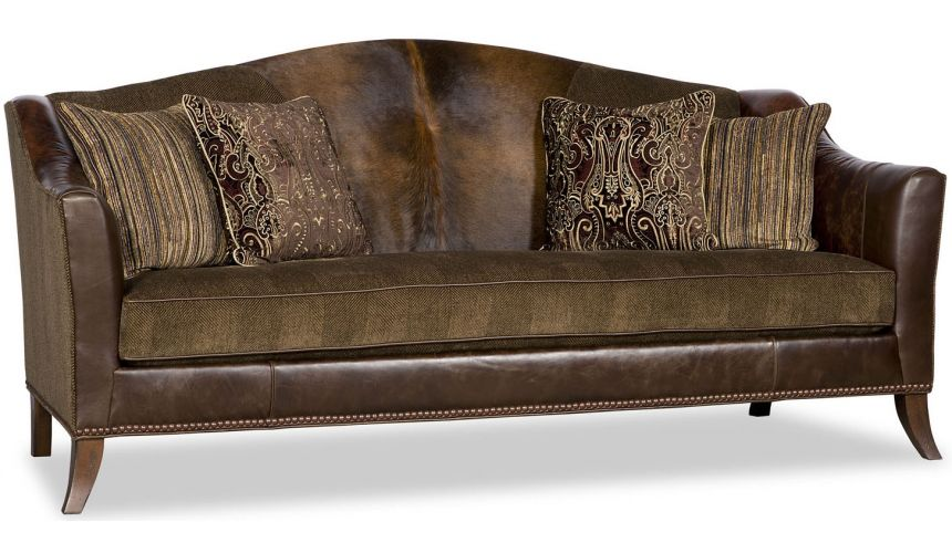 SOFA, COUCH & LOVESEAT Upholstered Curved Sofa