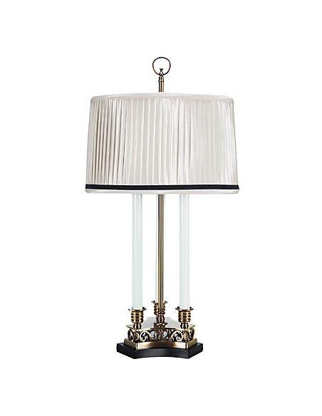 Decorative Accessories Triple Candle Brass Lamp