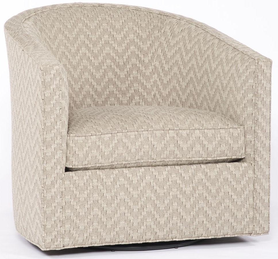 Zig Zag Swivel Chair