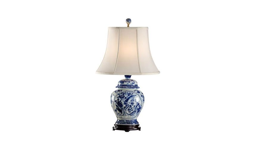 Decorative Accessories Oriental Finish Jar Lamp