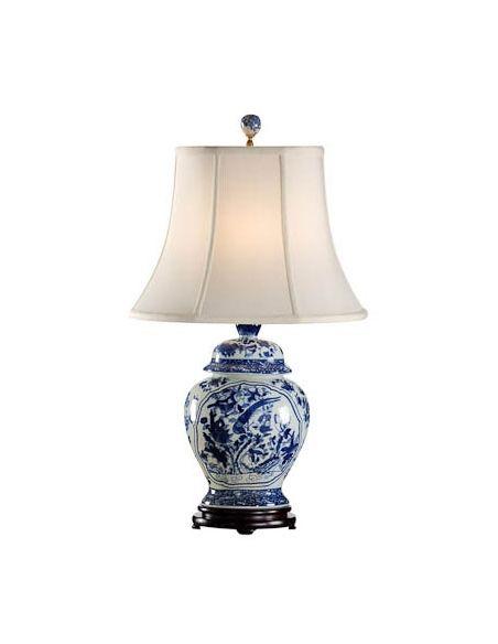 Decorative Accessories Oriental Finish Jar Lamp