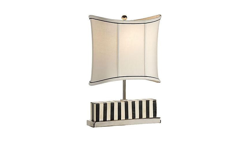 Decorative Accessories Black And White Bone Table Lamp
