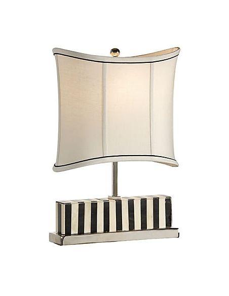 Black And White Bone Table Lamp