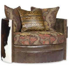 Wrap Around Swivel with western accent