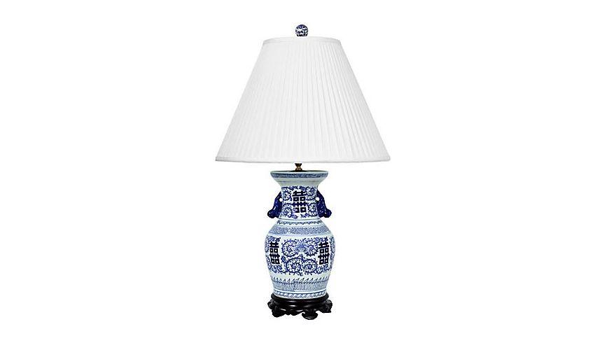 Lighting Beautifully Hand Painted Urn Lamp