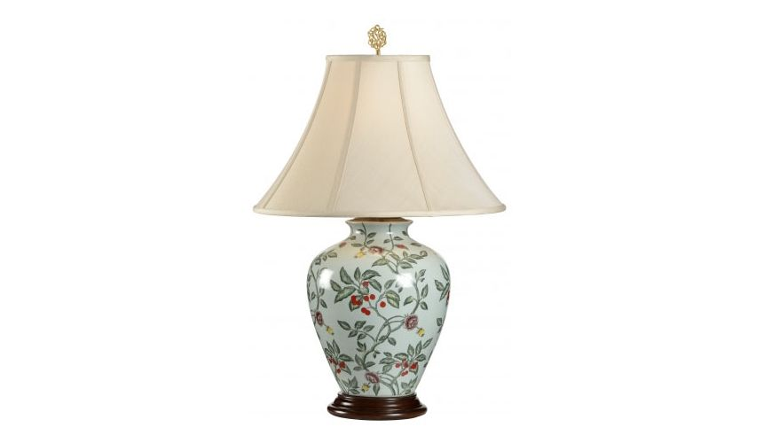 Decorative Accessories Hand Painted Cherry Lamp