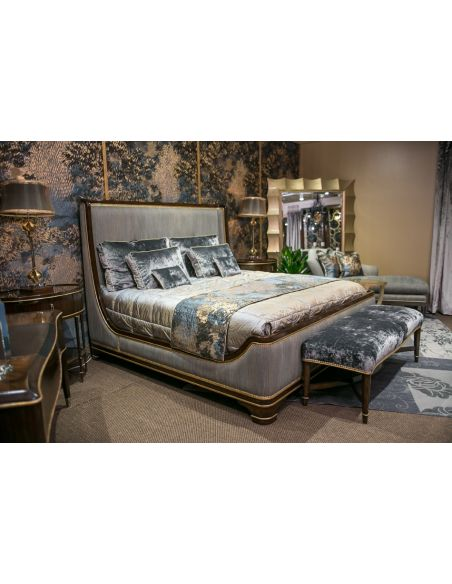 BEDS - Queen, King & California King Sizes Luxury Sleigh Bed