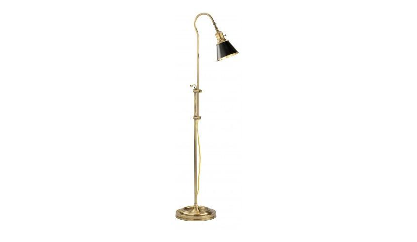 Decorative Accessories Sleek Adjustable Brass Lamp