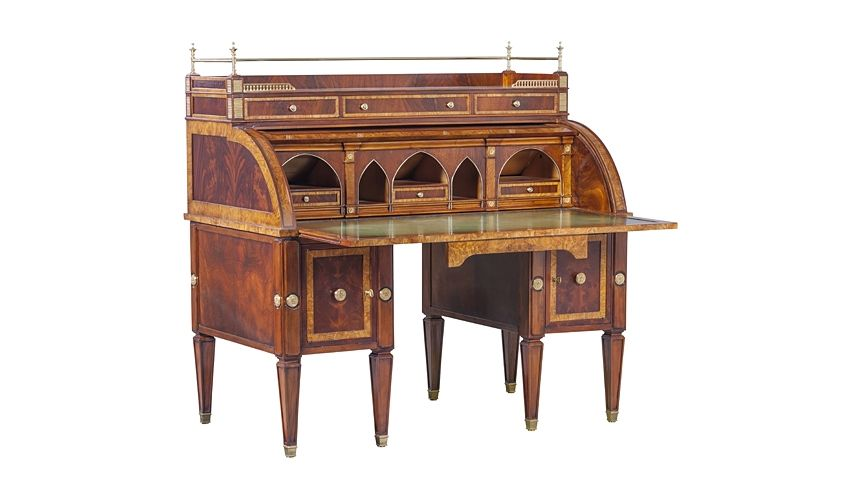 Executive Desks 79-48 Solid walnut wood Other Tables