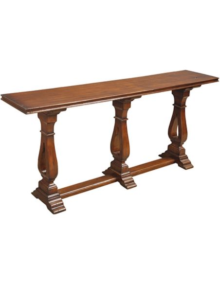 Multistep Feet Chanson Console Table