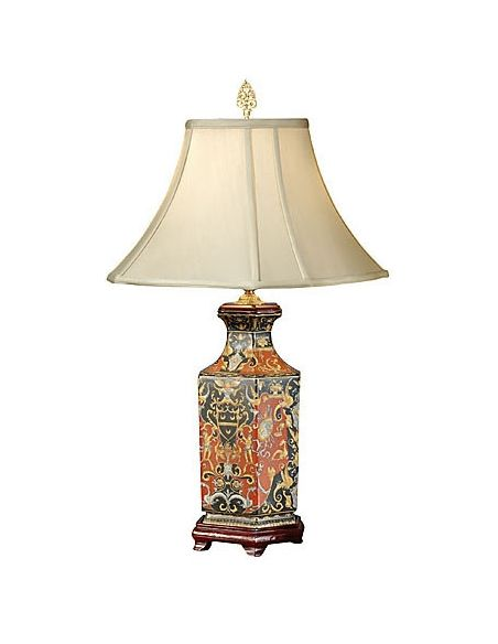 Decorative Accessories Red Eerie Urn Lamp