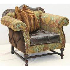 Beautiful Birds of the Tropics Armchair