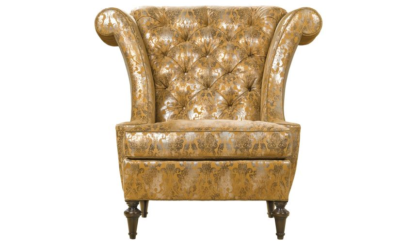 Upholstered Grand Chair