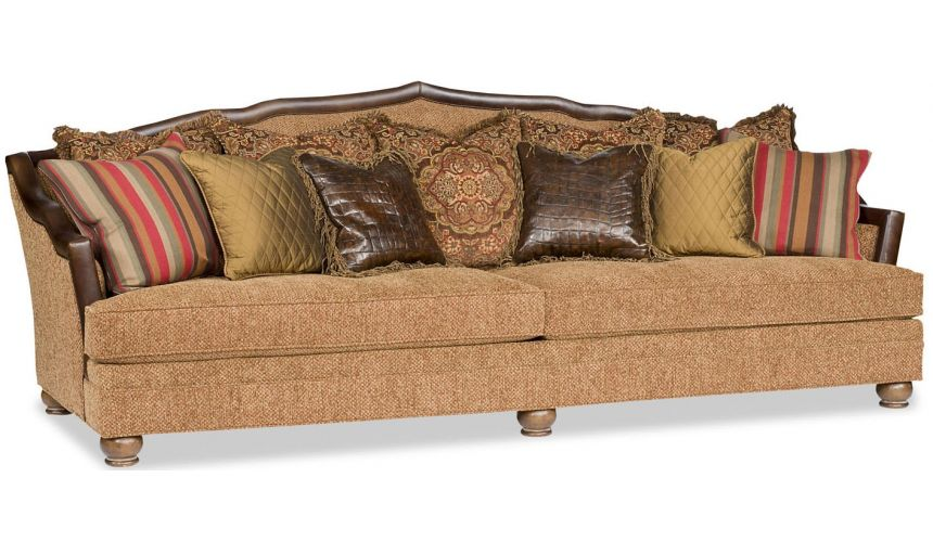 SOFA, COUCH & LOVESEAT Lots of Pillows Sofa