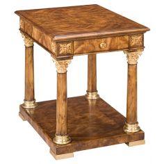 72-36 Solid walnut wood Side Table