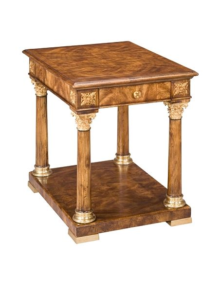 Square & Rectangular Side Tables 72-36 Solid walnut wood Side Table