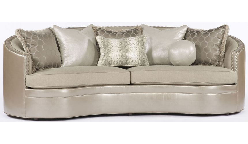 SOFA, COUCH & LOVESEAT Beige Wrap Around Sofa