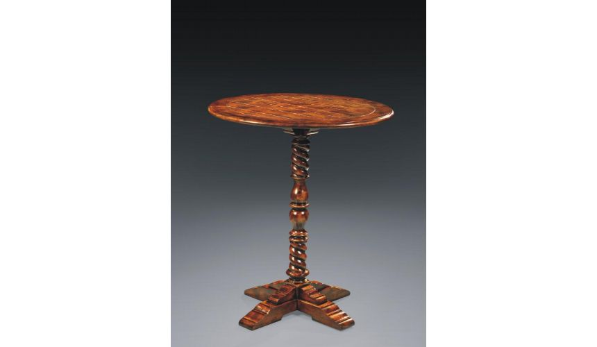 DINING ROOM FURNITURE High Quality Furniture Round Pedestal Table
