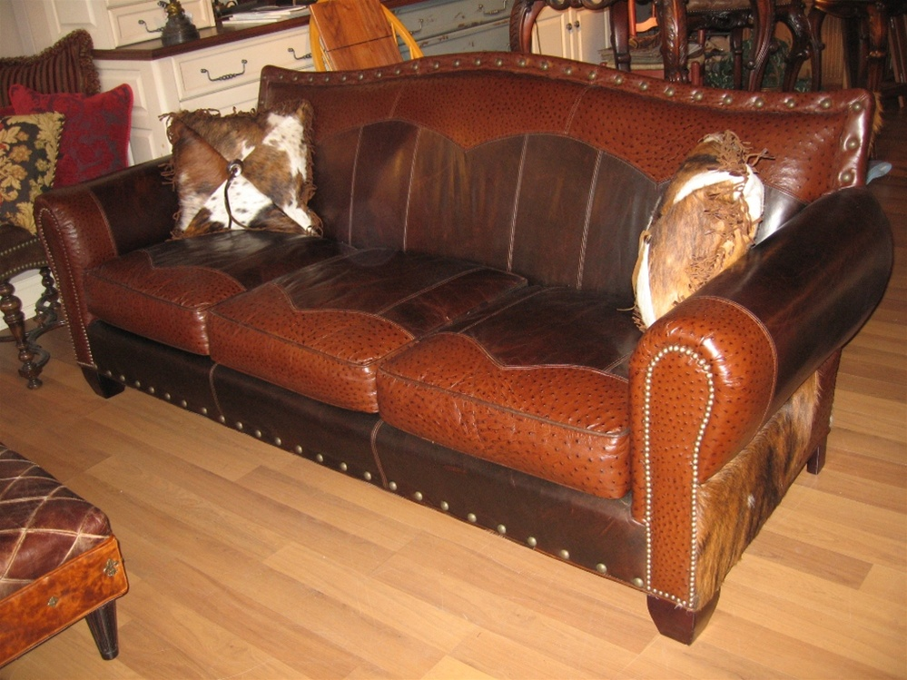 Luxury Furniture Duded Up Sofa Western