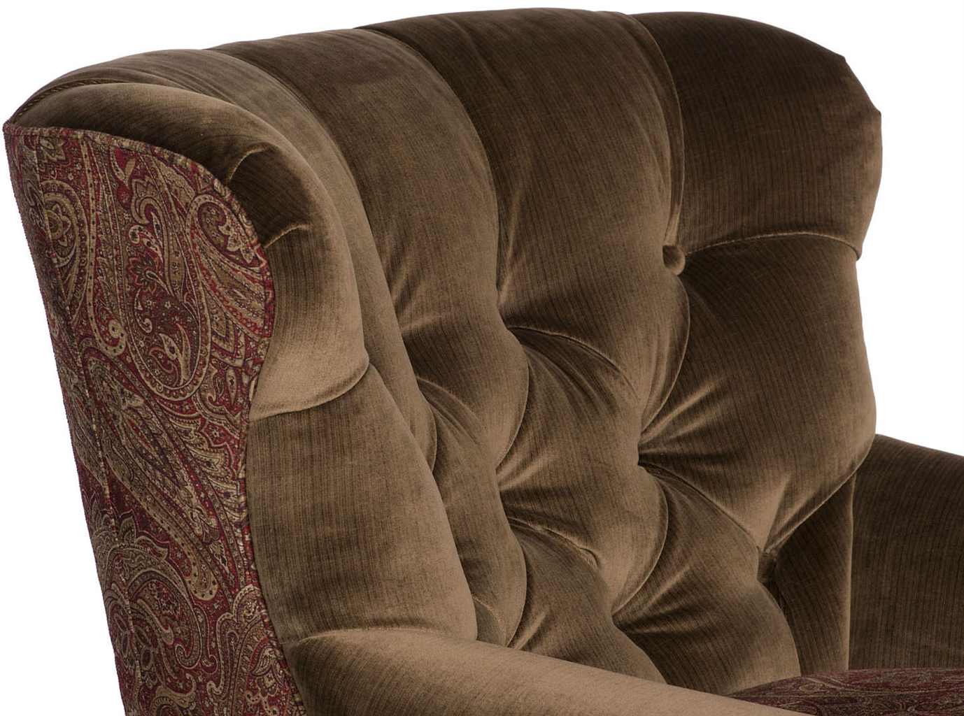 Luxury Leather U0026 Upholstered Furniture Tufted Club Chair