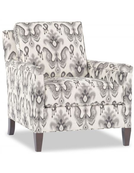 Modern Furniture Black and White Patterned Chair