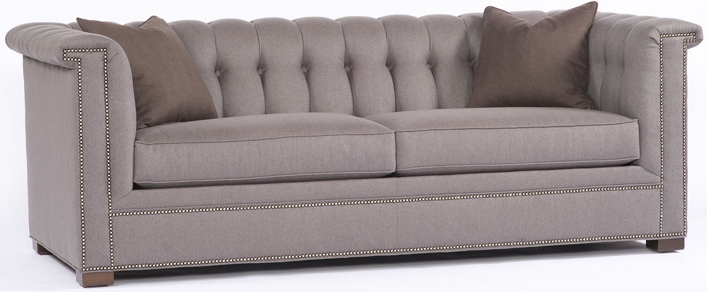 SOFA, COUCH U0026 LOVESEAT Slate Tufted Back Sofa,
