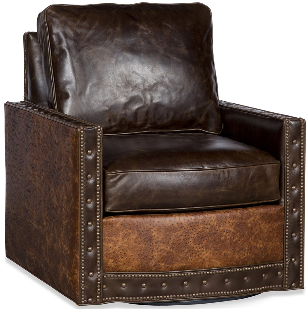 Upholstered Nail Head Club Chair