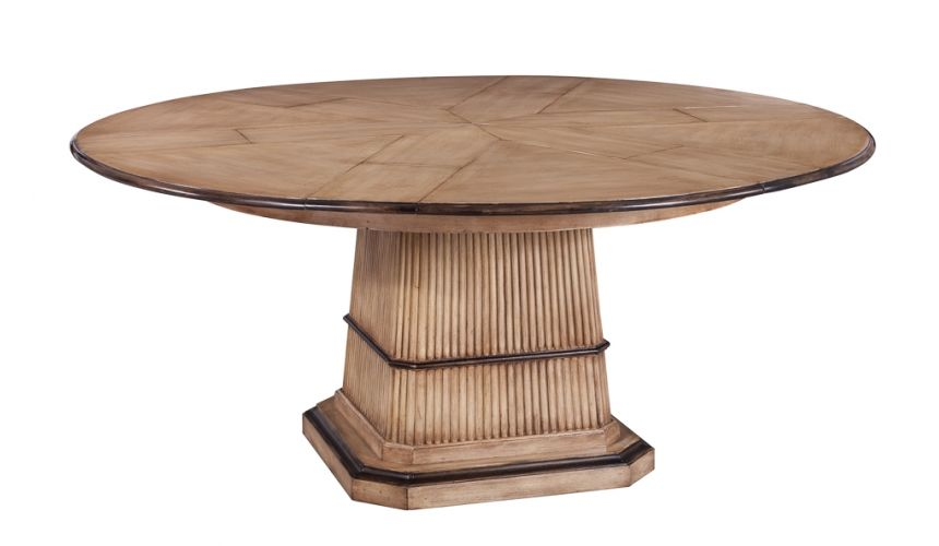 Dining Tables Jupe Dining Table Solid Walnut Light color.