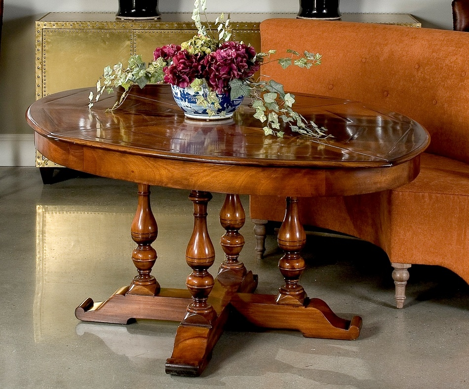 Dining Tables Walnut Oval Jupe Table