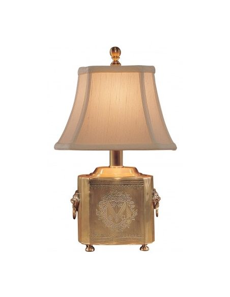 Decorative Accessories Block Box Golden Lamp