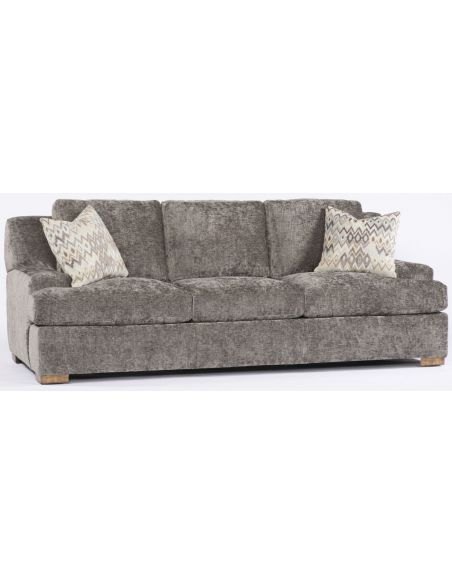 SOFA, COUCH & LOVESEAT Grey Fluffy Sofa,