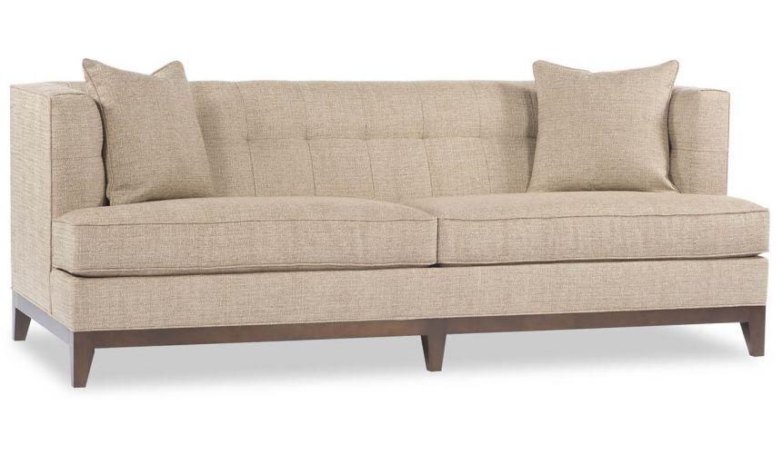 SOFA, COUCH & LOVESEAT Modern Beige Sofa