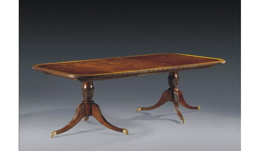 Dining Tables High End Dining Furniture Reeded Dining Table