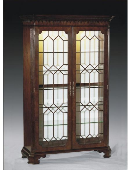 Breakfronts & China Cabinets High End Furniture Display Cabinet