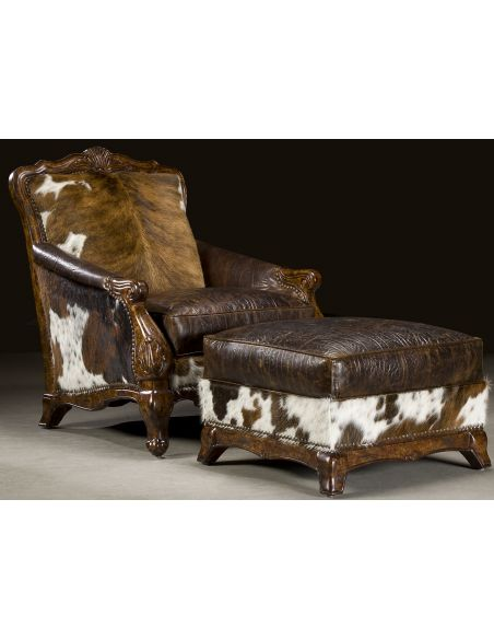 Luxury Leather & Upholstered Furniture 4-10-8-sofa, chair, leather, fabric