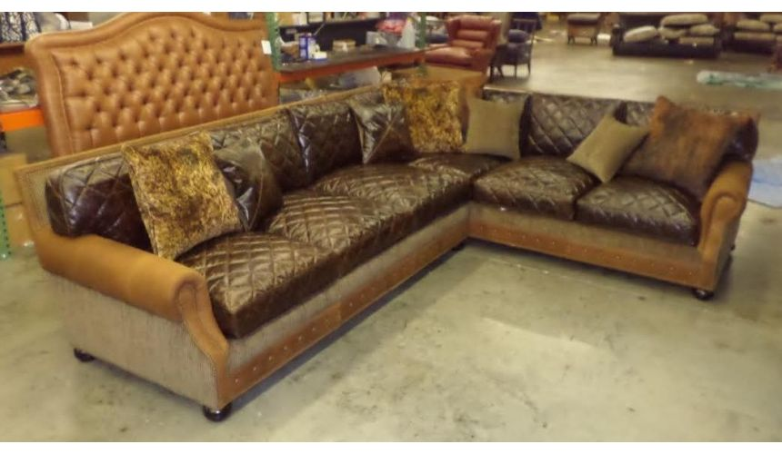 Luxury Leather & Upholstered Furniture High Quality Most Comfortable Leather Sofa-14