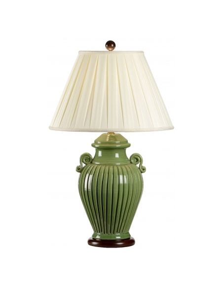 Lighting Soothing Green Jar Lamp
