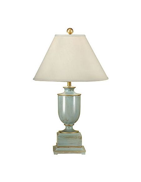 Lighting Distressed Finish Urn Lamp