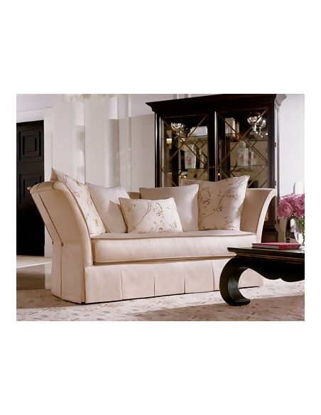 Luxury Leather & Upholstered Furniture High End Upholstered Furniture, Sleek Sofa