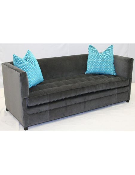 Luxury Leather & Upholstered Furniture 9940-03 Shelter Sofa