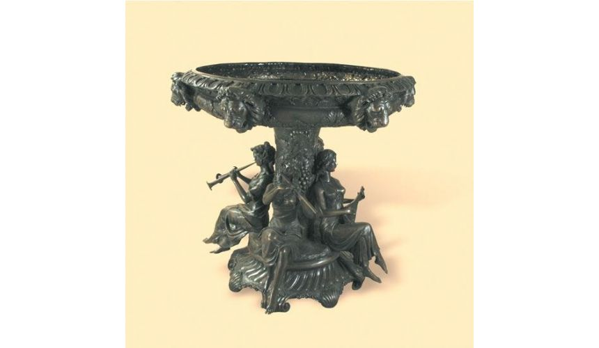 Decorative Accessories Home Luxurious Accents Fountain with Ladies