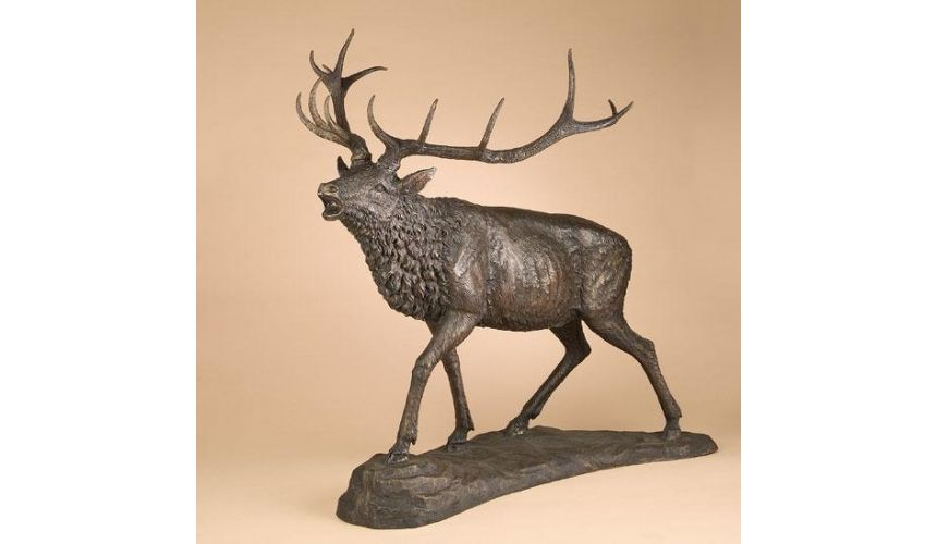 Decorative Accessories Home Accessories Luxurious Walking Elk