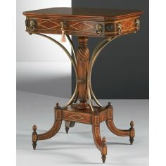 Accent lamp side table. Luxury furniture.